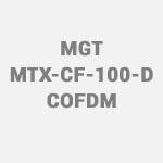 MGT Europe – MGT MTX CF 100 D COFDM Digital Video Transmitter